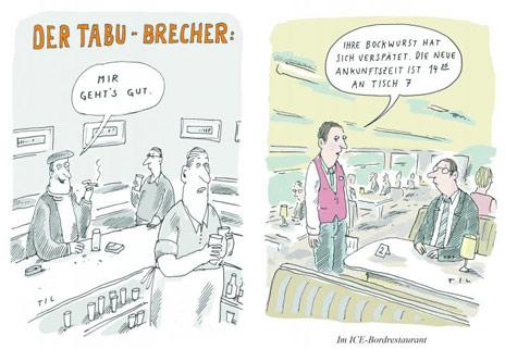 Cartoonausstellung Til Mette >>Meine Welt<<