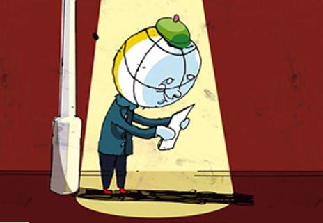 in 50 cartoons um die welt