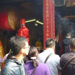 A-Ma. The most famous Taoist temples in Macau (built in 1488)